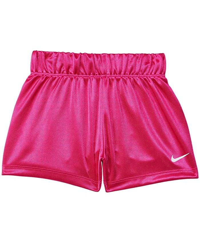 Nike Kids Logo Waistband Shorts (Toddler)