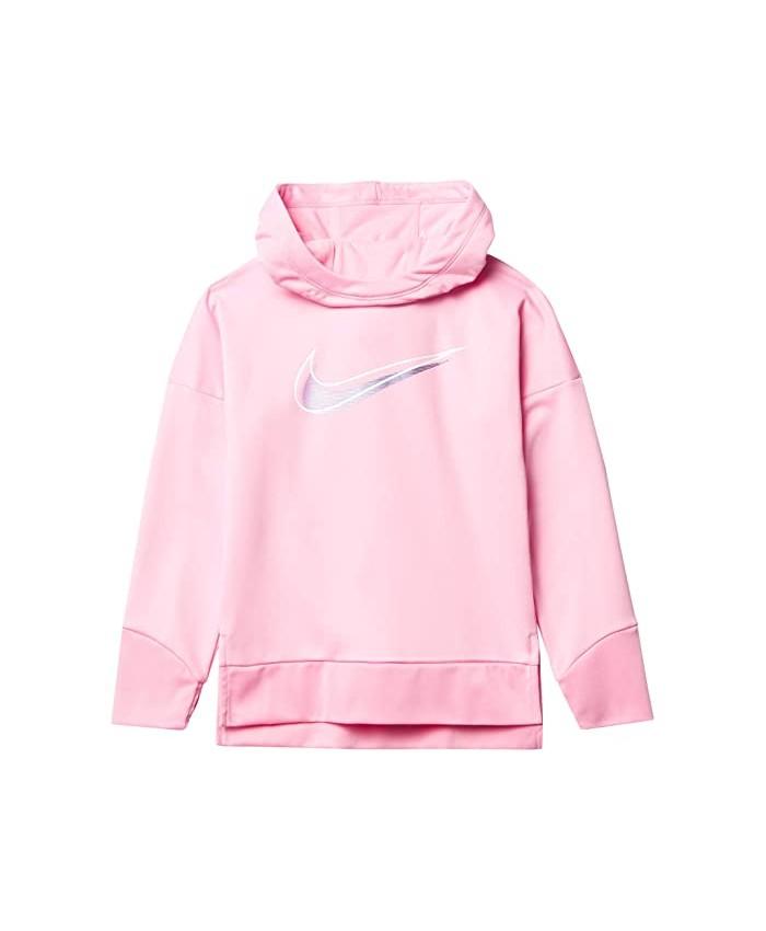 Nike Kids Therma Fleece Tunic Hoodie (Toddler\u002FLittle Kids)