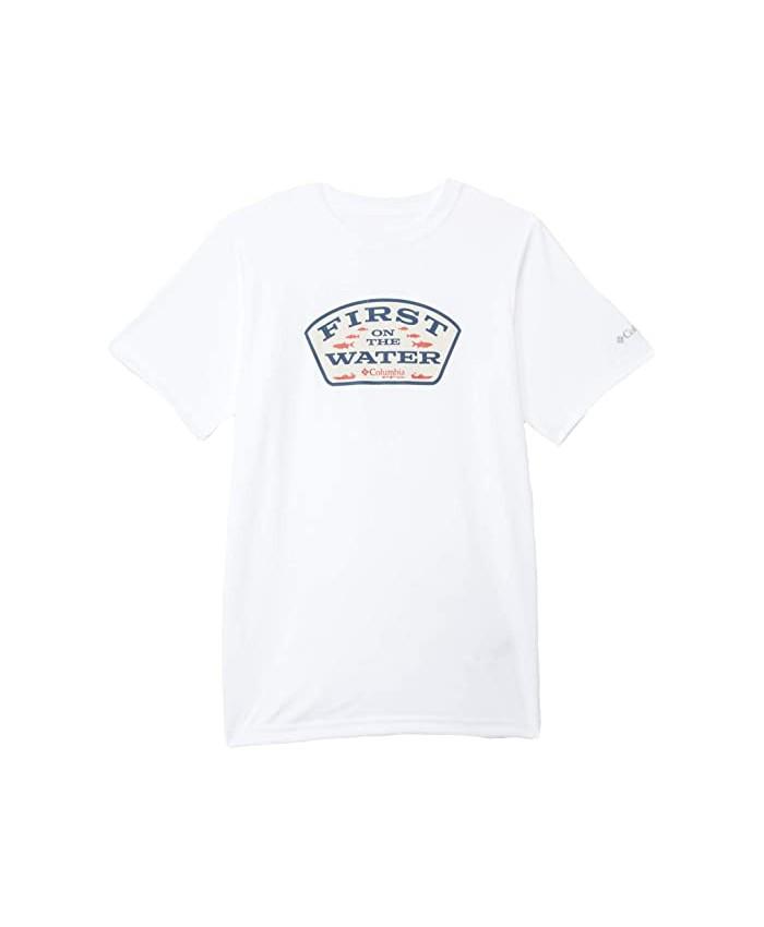 Columbia Kids PFG™ Finatic Short Sleeve Shirt (Little Kids\u002FBig Kids)