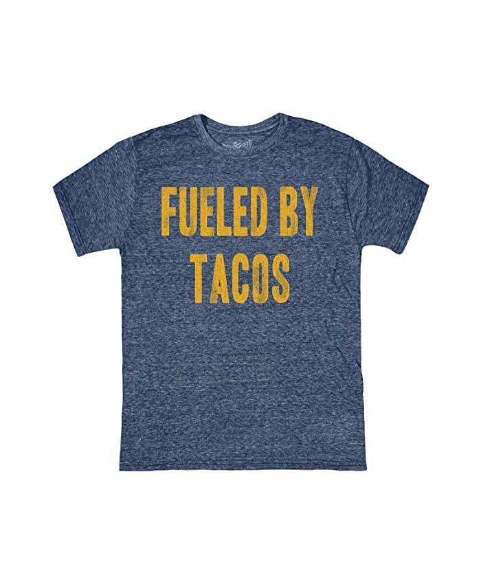 The Original Retro Brand Kids Vintage Tri-Blend Fueled by Tacos Tee (Big Kids)