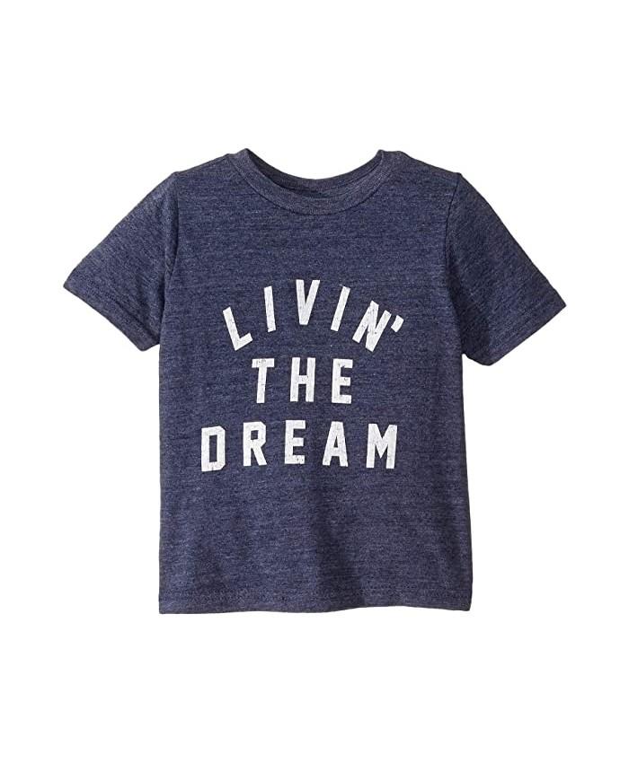 The Original Retro Brand Kids Vintage Tri-Blend Livin' The Dream Short Sleeve Tee (Toddler)