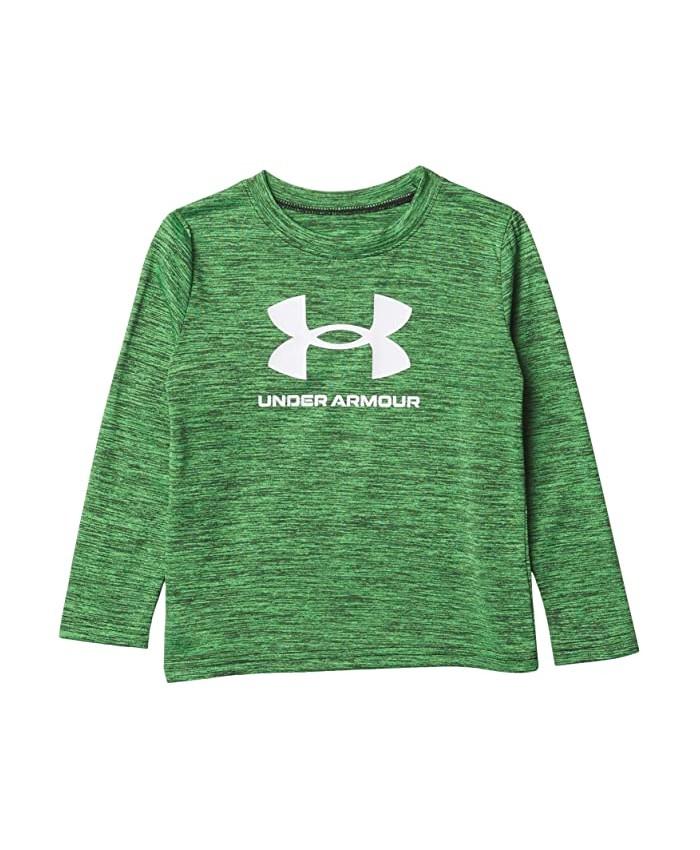 Under Armour Kids Big Symbol Twist Long Sleeve (Toddler)