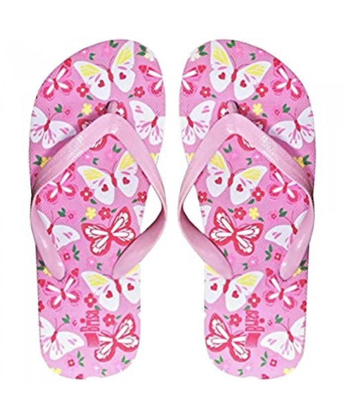 Butterfly Girl's Flip Flop Sandal