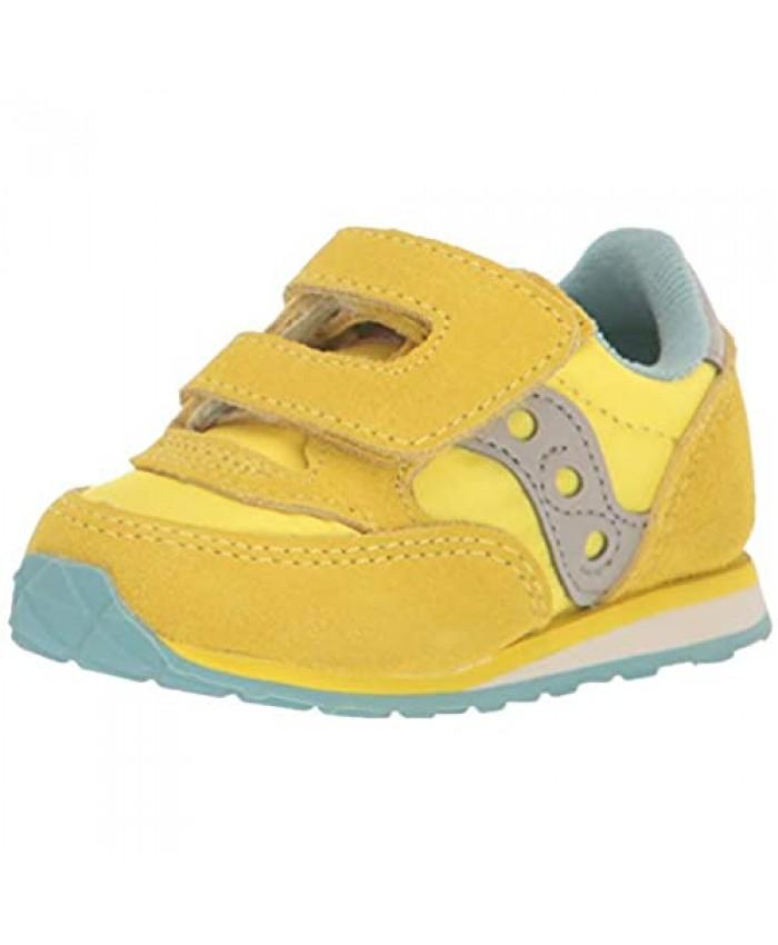 Saucony Kids' Baby Jazz Hook & Loop Sneaker