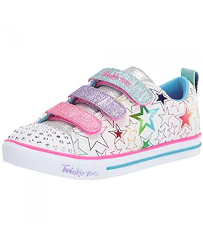 Skechers Unisex-Child Sparkle Lite-Stars The Limit Sneaker