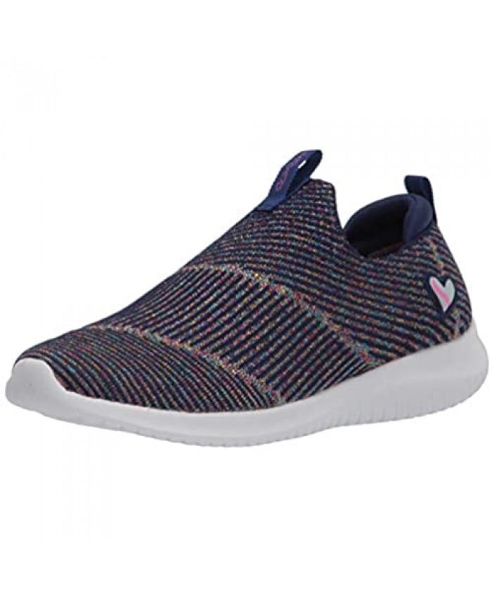 Skechers Unisex-Child Sport Air Cooled Memory Foam Girls Stretch Fit Sneaker