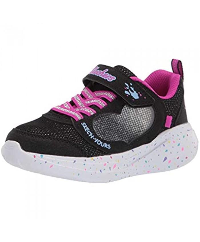 Skechers Unisex-Child Sport Light Weight Girls Sneaker