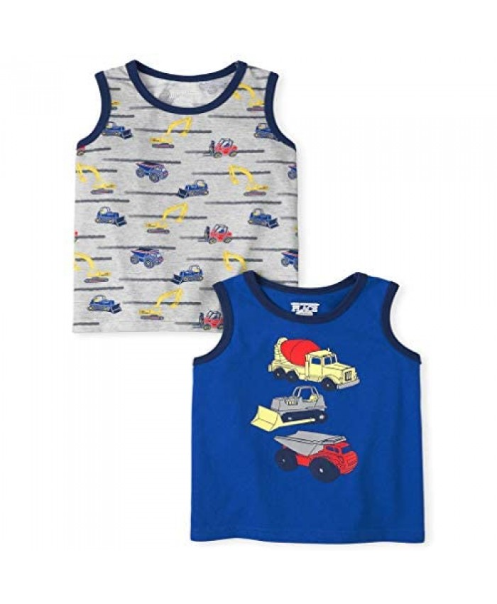 The Children's Place Baby Boys' Trunk Tank Tops Pack of Two