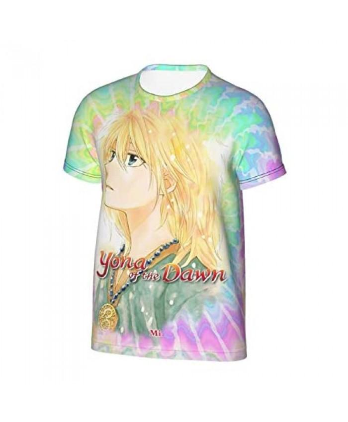 Yona of The Dawn 3D Print Boys' T-Shirts Teen Sport Cool Short Sleeve T Shirt