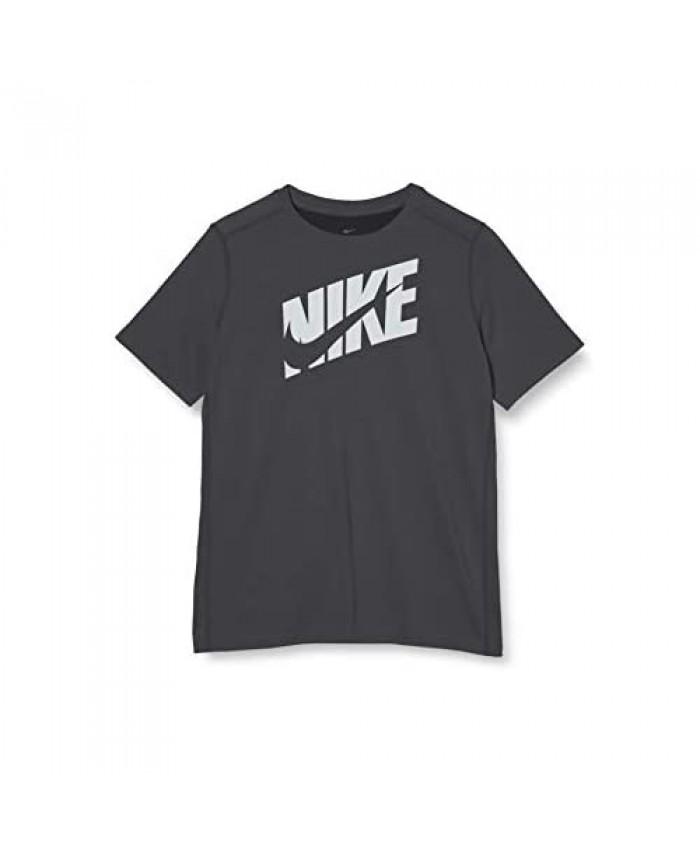 Nike Dri-Fit Swoosh Jr Black T-Shirt for Kids CJ7736-010