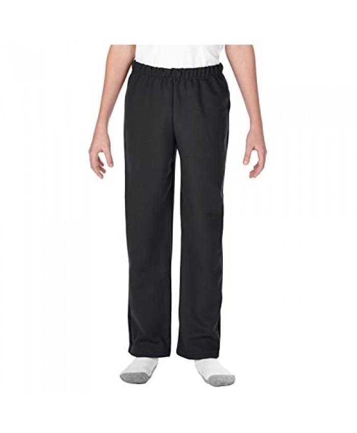 Gildan Kids' Open Bottom Youth Sweatpants