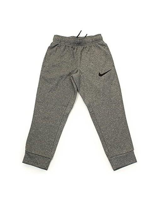 Nike Little Boys Therma Fleece Core Pants Dark Grey Heather