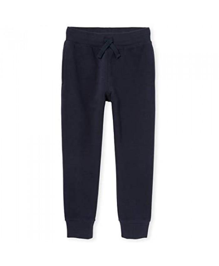 The Children's Place Boys' Uniform Active Fleece Jogger Pants