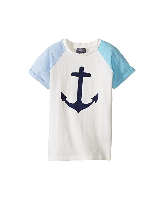 Toobydoo Lucky Anchor T-Shirt (Toddler\u002FLittle Kids\u002FBig Kids)