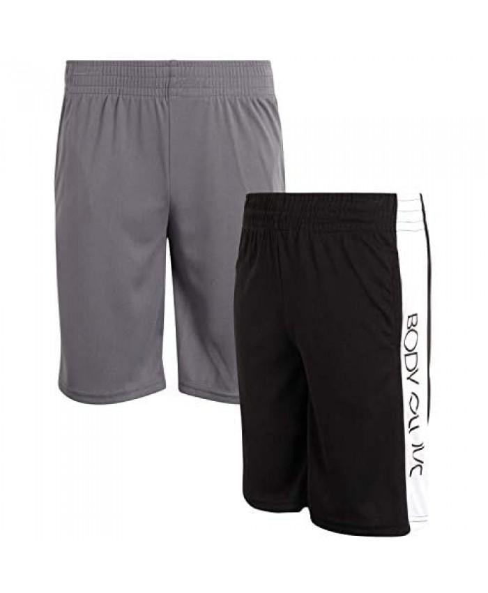 Body Glove Boys Athletic Performance Shorts (2 Pack)