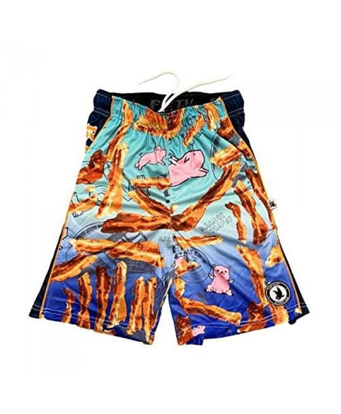 Flow Society Bacon Boys Athletic Shorts - Boys Sports Shorts - Gym Shorts