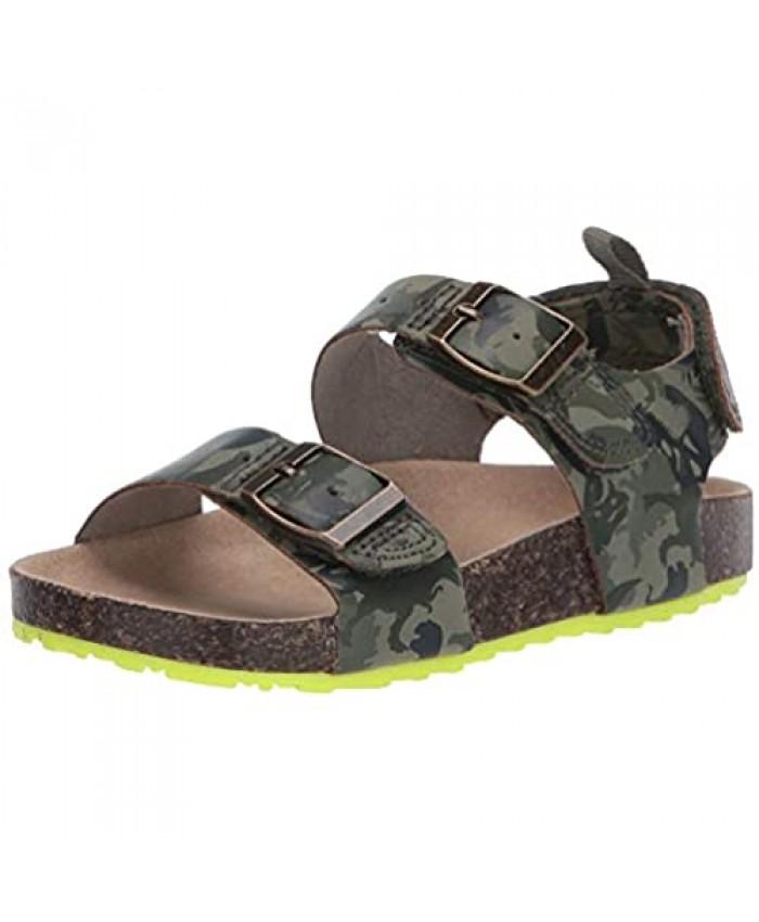 Carter's Unisex-Child Aldus Comfort Sandal with Hook and Loop Closure