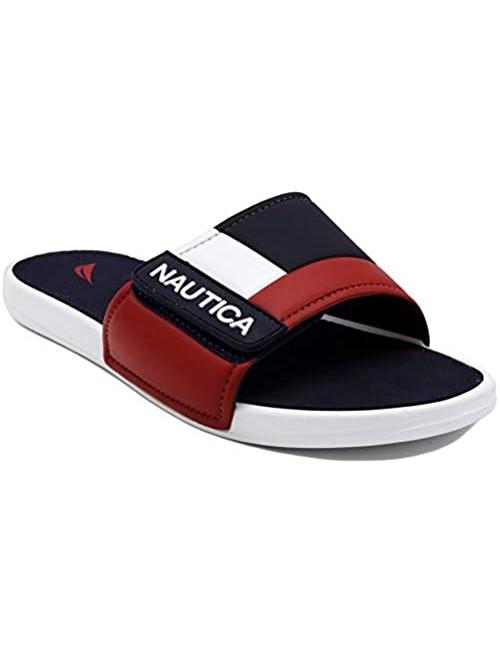 Nautica Kids Bower Youth Athletic Slide Adjustable Straps Comfort Sandal (Little Kid/Big Kid)