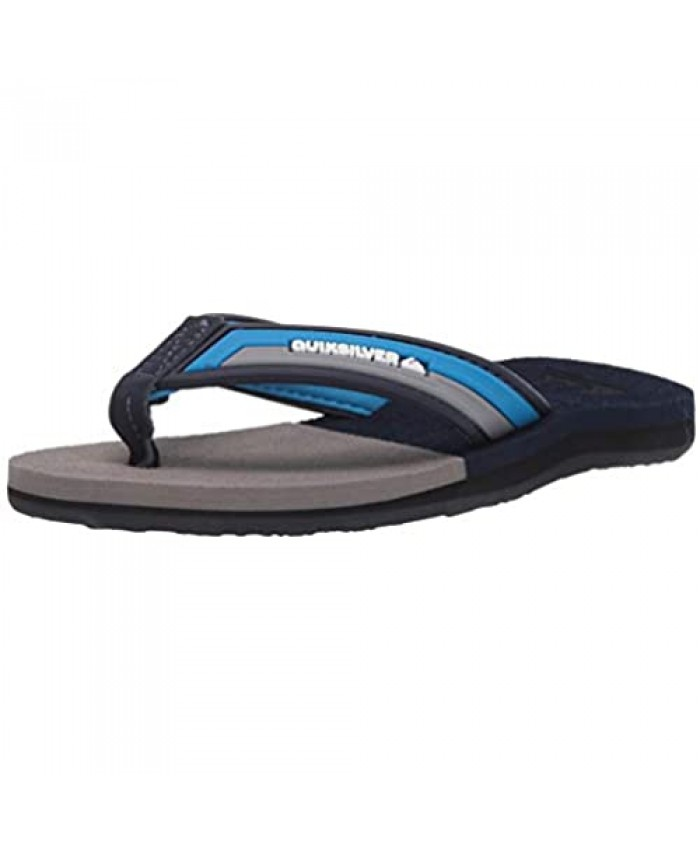 Quiksilver Unisex-Child Molokai Eclipsed Deluxe Youth Sandal