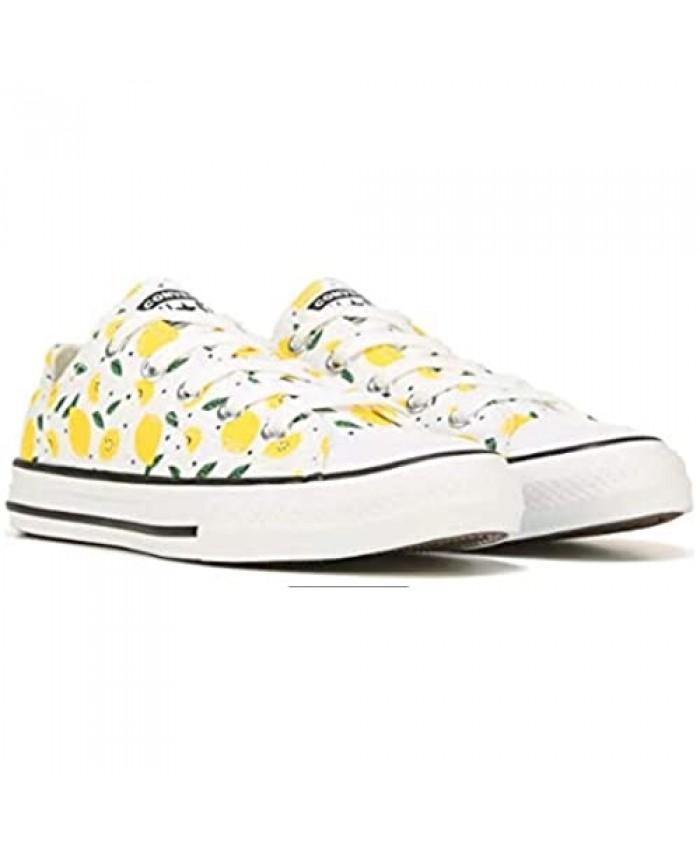 Converse Chuck Taylor All Star Lemon Sneakers White/Lemons 11 Little Kid