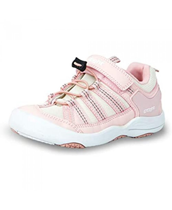i78 Rainbow Low top Kids Boys Girls Sport Hiking Shoes Breathable Synthetic Leather Sneakers Non-Slip Lightweight for Outdoor Trekking Trail Walking