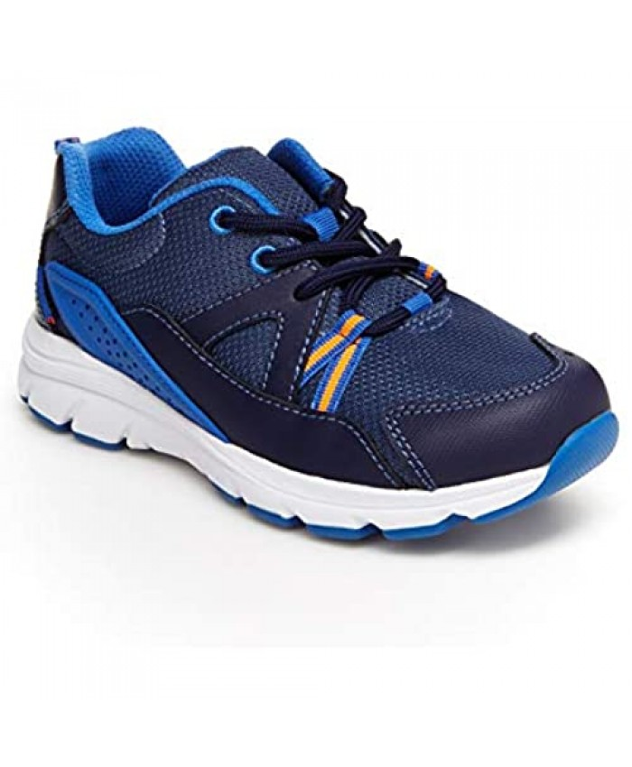 Stride Rite Boy's Made2Play Journey Adaptable Athletic Sneaker Navy 12.5 Little Kid