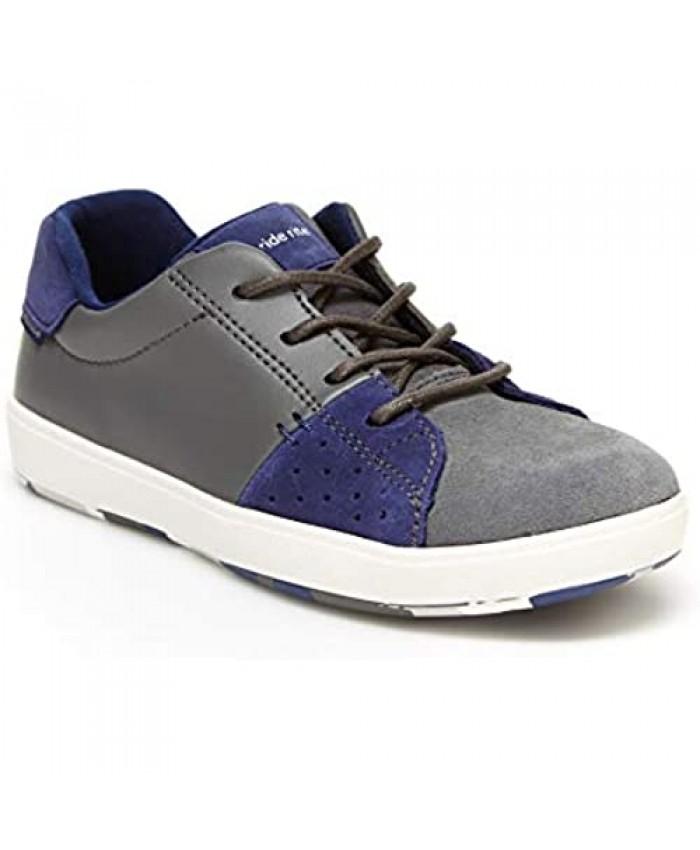 Stride Rite Boy's Made2Play Maci Sneaker Grey/Navy 10.5 W US Little Kid