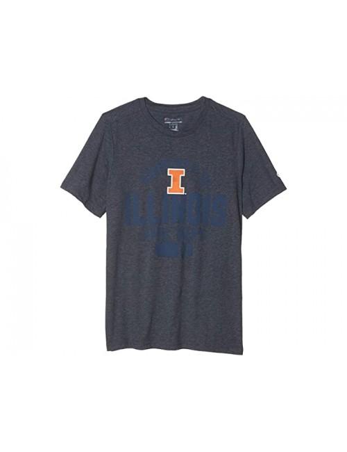 Champion College Kids Illinois Fighting Illini Field Day Short Sleeve Tee (Big Kids)