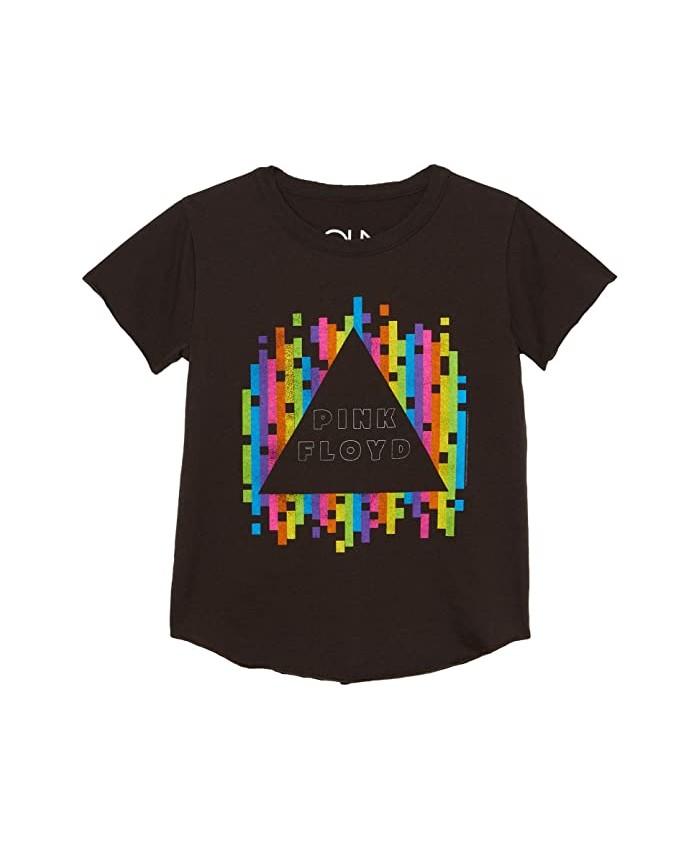Chaser Kids Recycled Vintage Jersey Short Sleeve Shirttail Crew Neck (Toddler\u002FLittle Kids)