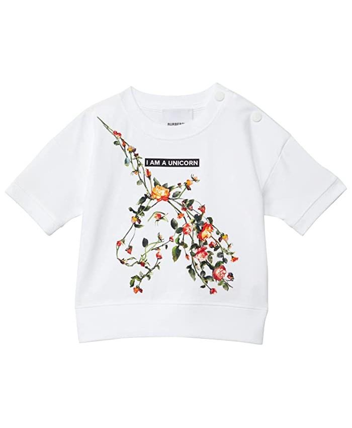 Burberry Kids Pam Unicorn Tee (Infant u002FToddler)