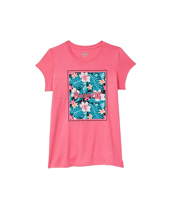Hurley Kids One and Only Logo T-Shirt (Big Kids)