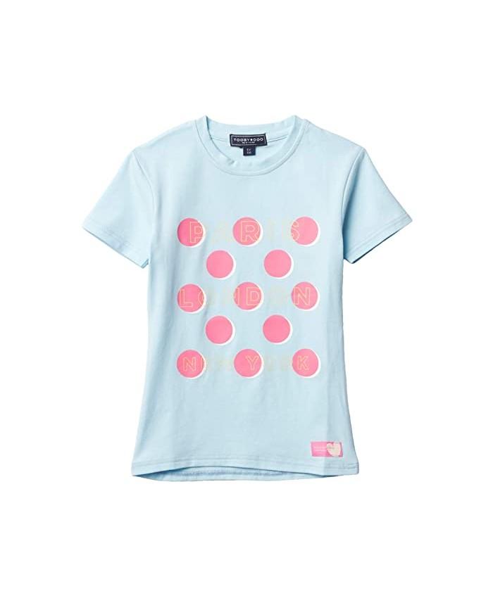 Toobydoo Macaroon Dot T-Shirt (Toddler u002FLittle Kids u002FBig Kids)