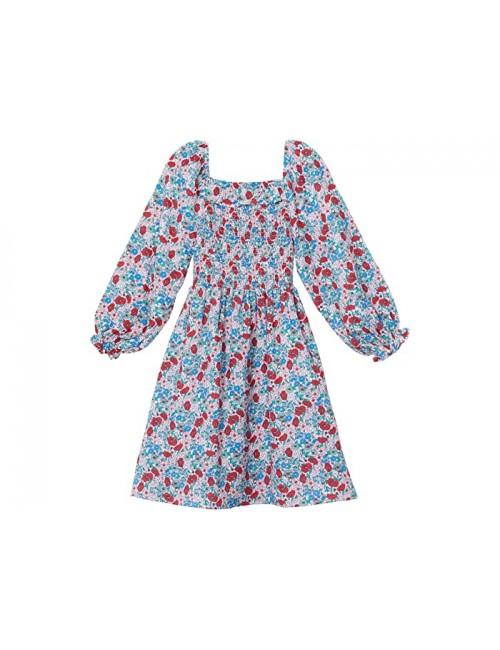 COTTON ON Audrey Long Sleeve Dress (Toddler\u002FLittle Kids\u002FBig Kids)