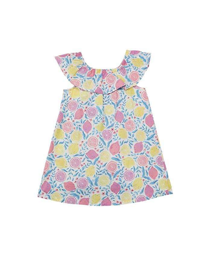Hatley Kids Citrus Ruffle A-Line Dress (Infant\u002FToddler)