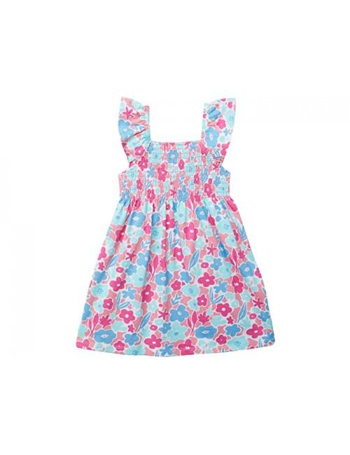 Hatley Kids French Garden Smocked Dress (Toddler\u002FLittle Kids\u002FBig Kids)