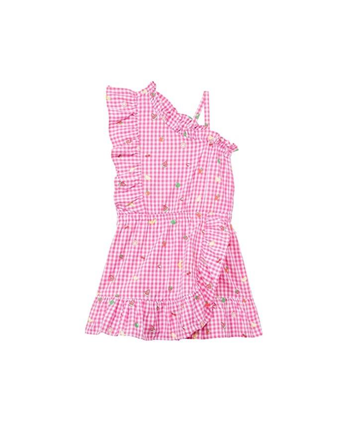 Hatley Kids Tutti Fruitti One Shoulder Cha Cha Dress (Toddler\u002FLittle Kids\u002FBig Kids)